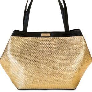 Versace Parfums Golden Black shopper Tote